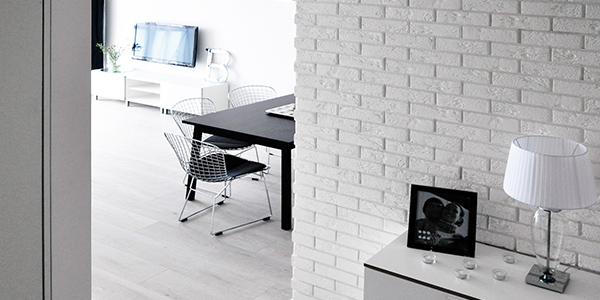 Interior Design Ideas to Make Your Home Feel Modern and Fresh stegu white brick
