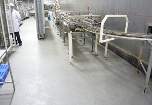 Resin Floor Food Facility Sherwin