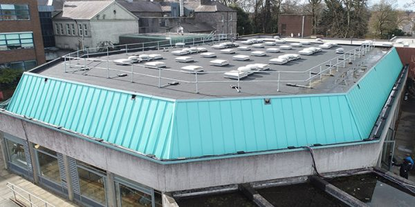 Roof Refurb of the Restaurant at DCU