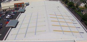 Commercial Building Limerick - Liquiflex-Pro Roofing Refurbishment - Liquid Waterproofing