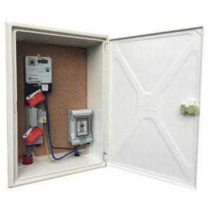 Recessed ESB Electric Meter Box - Paintable & Easy to Clean