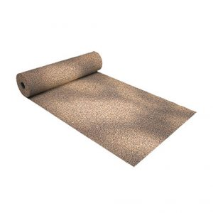 Fire Rated Impact Sound Insulation Under Floor Covering with special selection of raw material DAMTEC® Resistant Cork is of low flammability