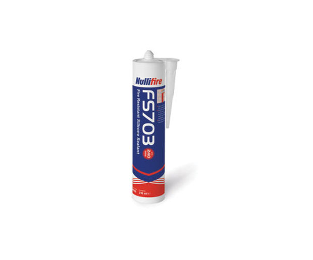 FS703 Silicone Sealant, single-part alkoxy-based fire resistant, 4 hours fire protection