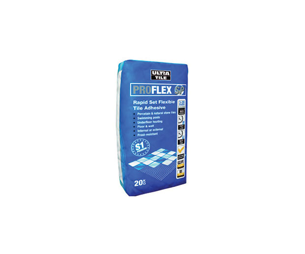 UltraTile ProFlex SP is a single part, flexible adhesive for wall and floor tiles