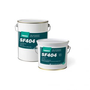 SF404 is a two part epoxy based, self-extinguishing adhesive of thixotropic consistency, formulated for ambient temperature curing.