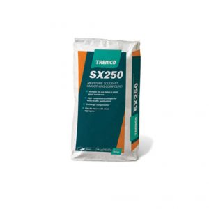 SX250 is a pre-smoothing and repair compound for clean, sound, porous substrates.