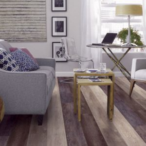 domestic environments. It requires no or little subfloor preparation and can even be installed on some existing flooring.