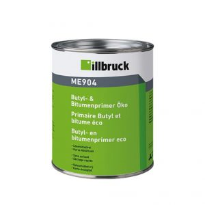 Illbruck ME904 Primer is used for the pre-treatment of building substrates, e.g. cement particle board, masonry, timber, etc.,