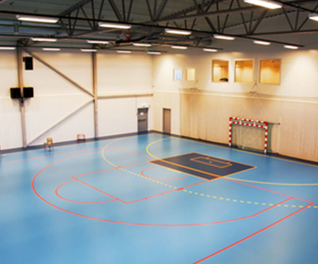 Recommended applications: table tennis, badminton, fitness, wellness centre, boxing