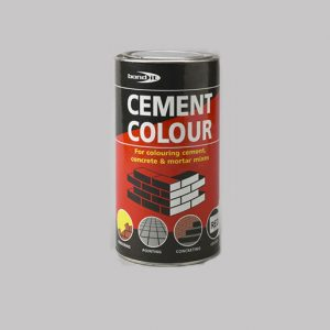 A range of easy-to-use, chloride-free permanent cement colourants