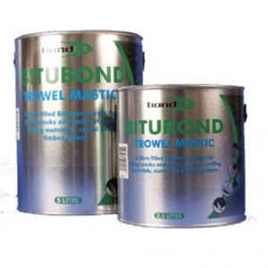 A multi-purpose, trowel grade material for waterproofing, stopping, bedding, pointing and sealing.