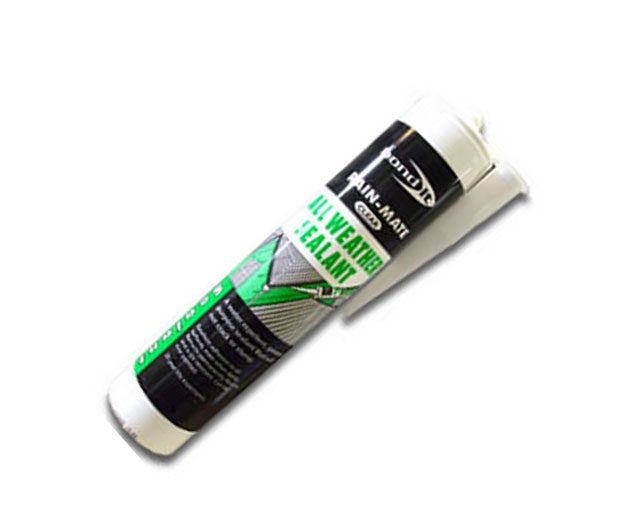 A superior and highly flexible, water repellent, general purpose sealant that has excellent adhesion to all surfaces, even when damp