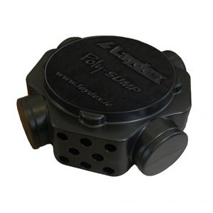Lightweight, Durable and Easily Installed Radon Sump