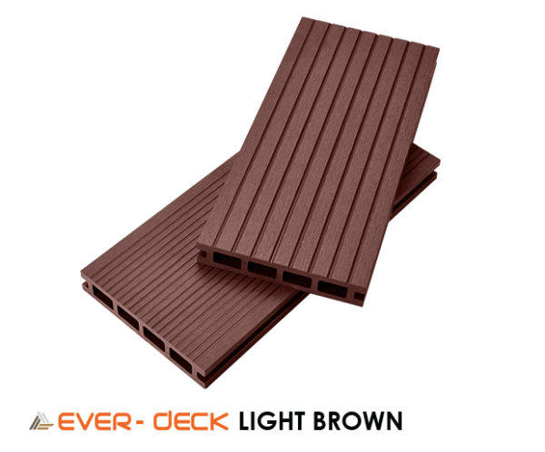 Teranna Composite Decking Ever-Deck - Light Brown