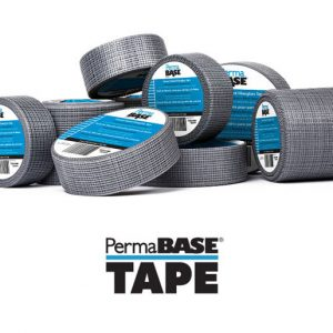 PermaBase tape is an alkali resistant fiberglass tape.