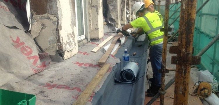 The Shelbourne Hotel Gutter Re-Lining