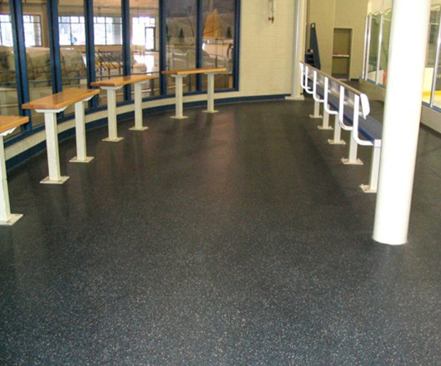 remp rubber flooring type studway - Laydex provide 5 key advantages of rubber floors in a commercial sector