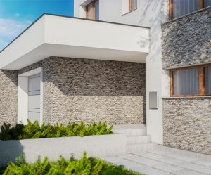 interior and exterior stone cladding add character to any house