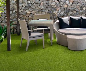 artificial grass can be used on balconies