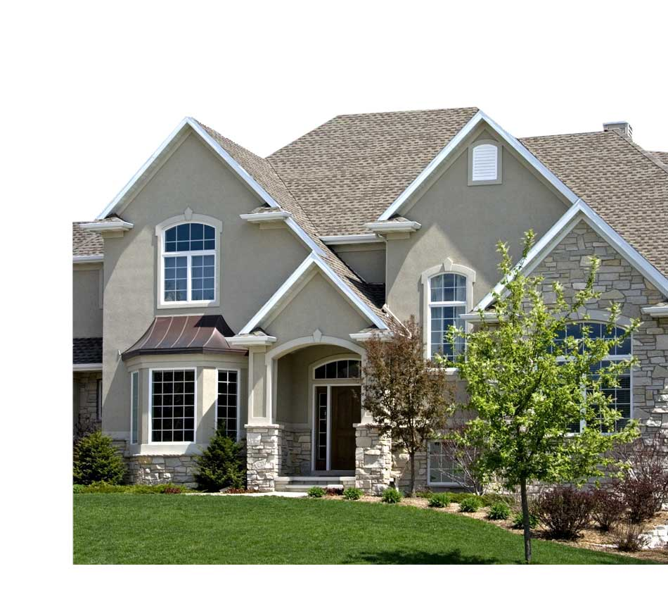 PermaBase-Cement-Board-As-Substrate-In-Exterior-Wall-Systems-Reduces-Installation-Time-And-Total-Installed-Cost-image-of-the-house-with-permabase-cement-board-installed on external wall