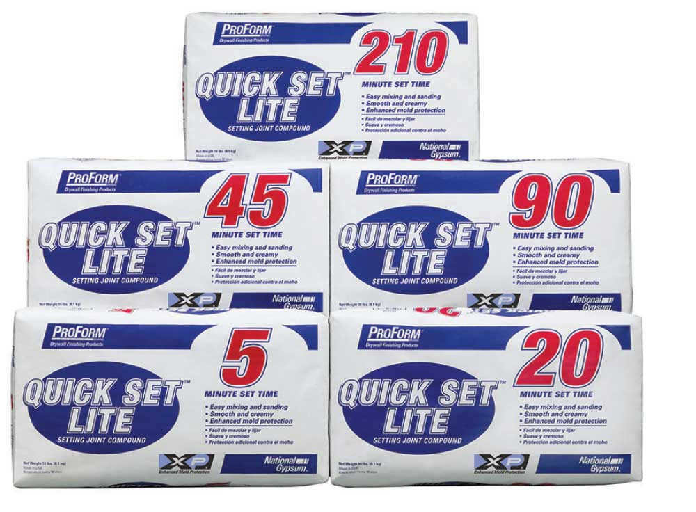 proform quick set lite joint compound Laydex provide 5 advantages of using a ready mixed joint compound