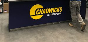 chadwicks building material shop in naas and lucan covered by laydex flooring ivc vinyl floor