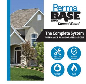 new permabase cement board brochure