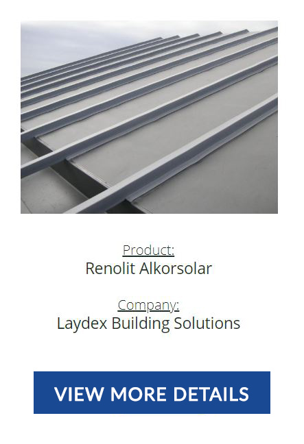 ICE Awards - Renolit Alkorsolar - Construction Product Innovation