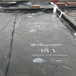 Metech M1 Gas Proof Membrane - Radon protection System | Laydex Ireland