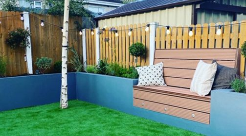 Sage Artificial Grass Project – Suburban Garden Design