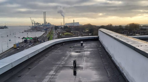 Plura R Re-Roof – Bituminous Waterproofing Project in Ringsend, Dublin