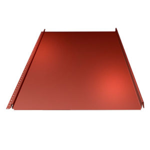 Lindab SRP25 Seam Roof Profile - High Quality Zinc Roofing