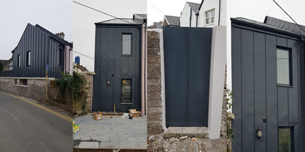 Contemporary Metal Cladding Project – Lindab SRP25