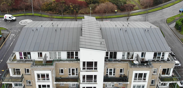 Residential Roofing Project featuring ALKORDESIGN Profile System