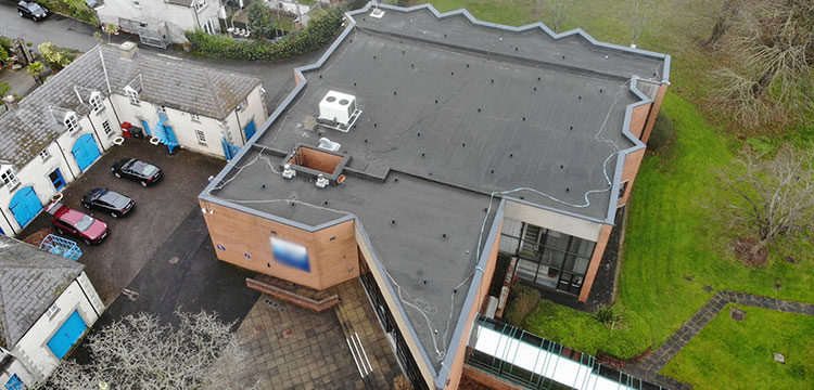 Commercial Roofing Refurbishment – Plura Re-Roof