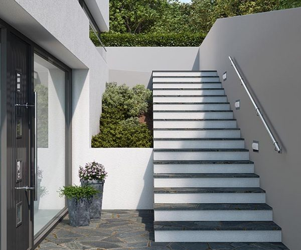 Rothley Handrail Kit - Made of Stainless Steel - Exterior & Interior Application